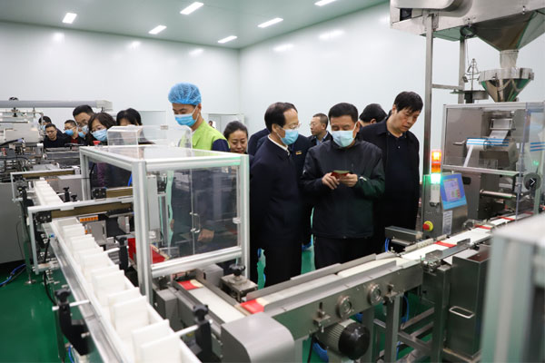 山西省政协副主席李青山 推动科技成果产业化 振东健康产业集团 振东