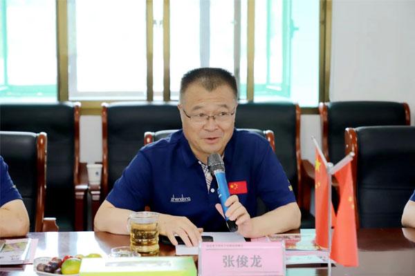 山西医科大学党委书记张俊龙教授对项目推进情况进行总结